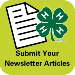 Submit your newsletter articles button