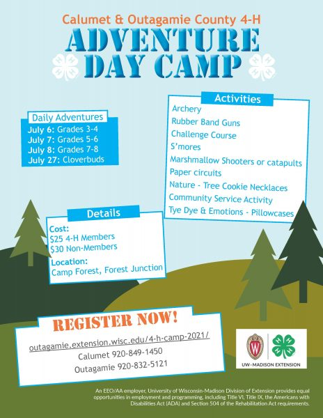 Adventure Day Camp Flyer