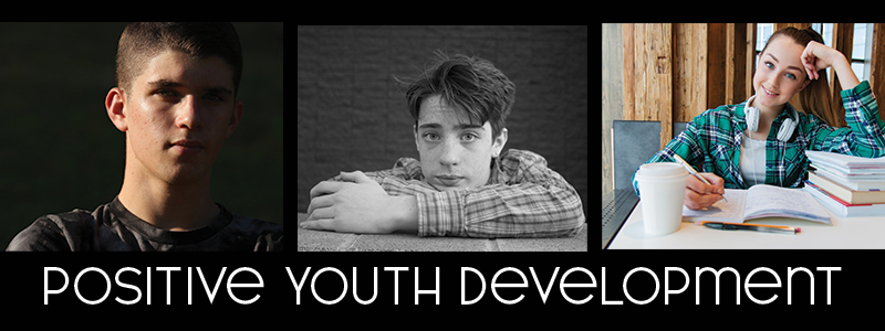 """Three teens and the words """"positive youth development"""""""